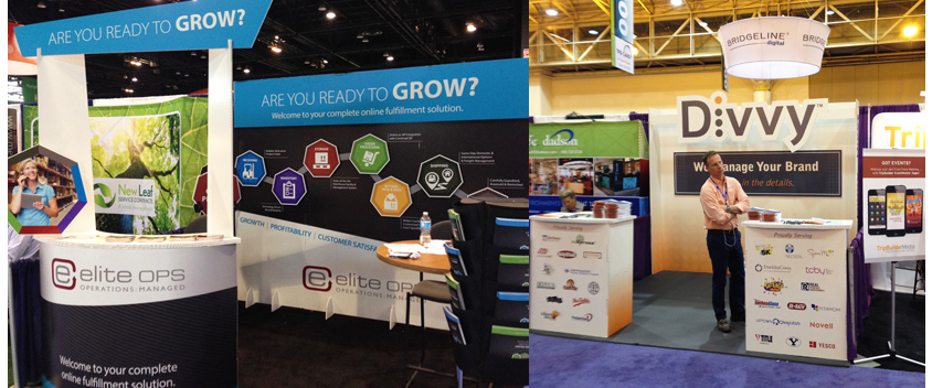 Franchise event printing and signage